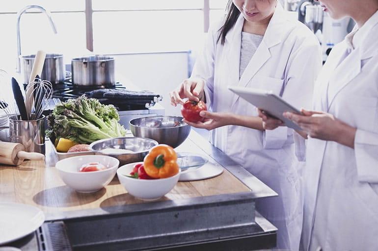 管理栄養士監修の食事指導