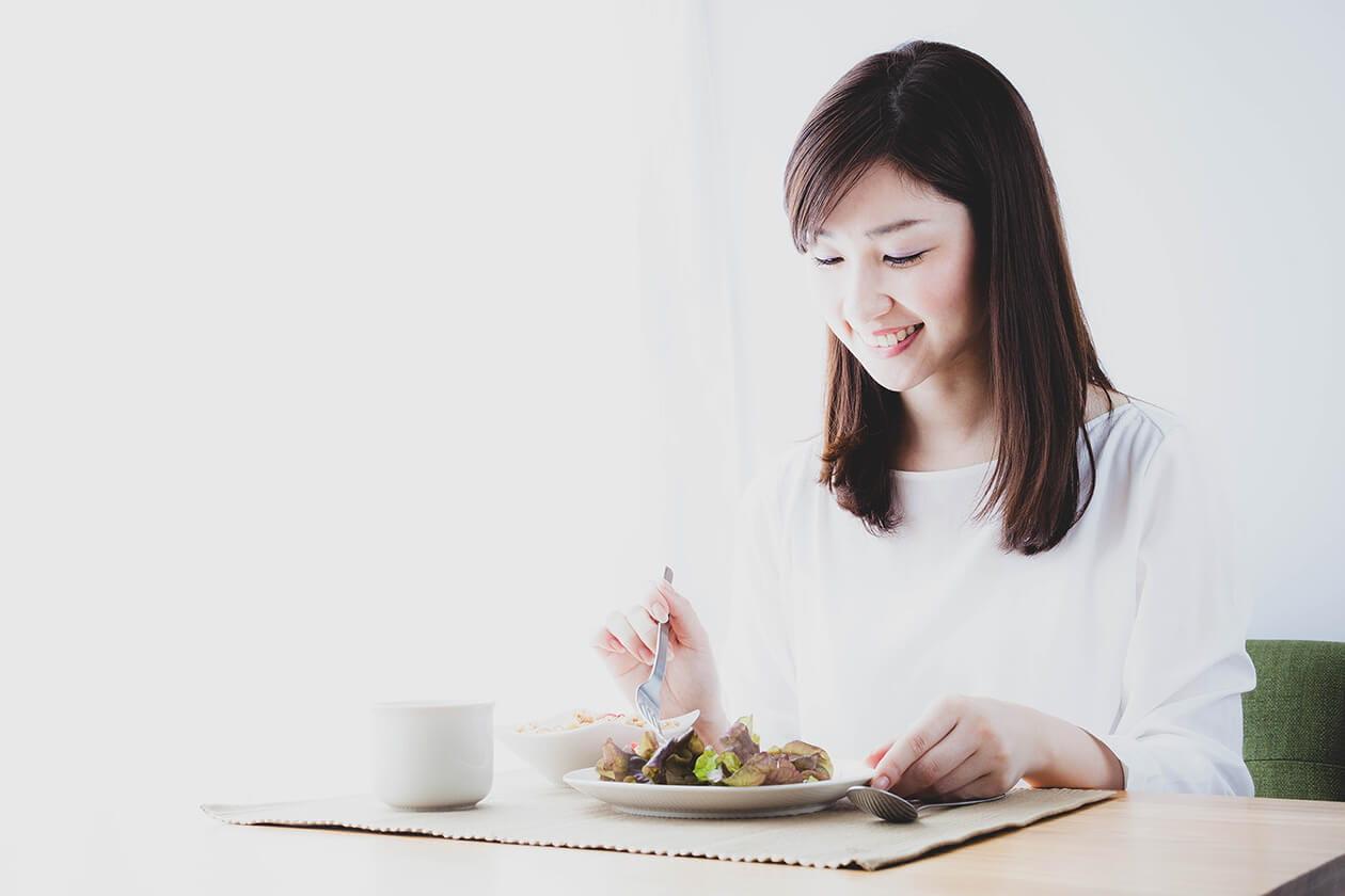 一人ひとりの生活環境に合わせた食事指導