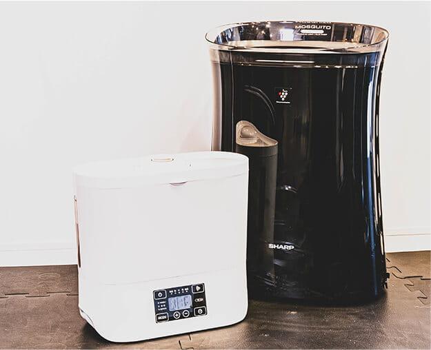 加湿器、空気清浄機